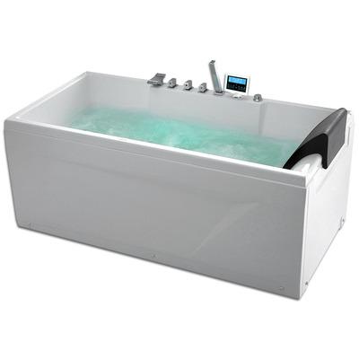 Акриловая ванна Gemy G9075 K L (фото, вид 1)