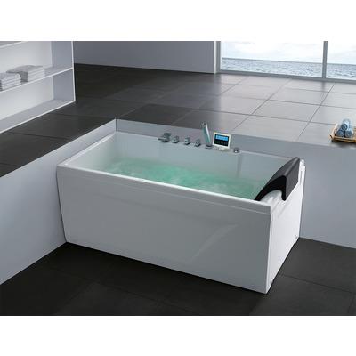 Акриловая ванна Gemy G9075 K L (фото, вид 3)
