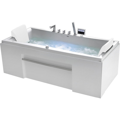 Акриловая ванна Gemy G9076 K (фото, вид 1)