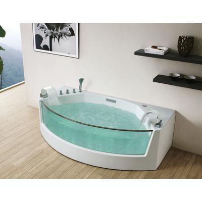 Акриловая ванна Gemy G9079 (фото, вид 2)