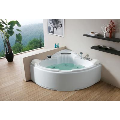 Акриловая ванна Gemy G9082 K (фото, вид 2)