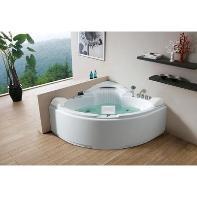 Акриловая ванна Gemy G9082 O (фото, вид 2)