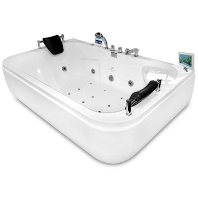 Акриловая ванна Gemy G9085 O L (фото, вид 1)