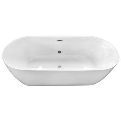 Акриловая ванна Gemy G9219 E (фото, вид 1)