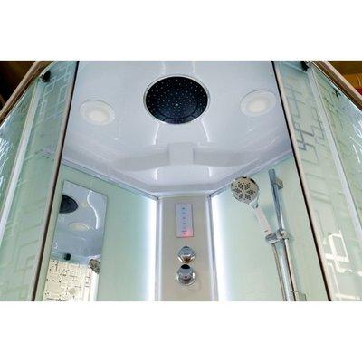 Душевая кабина DETO ЕМ1580 LED с гм. (фото, вид 2)