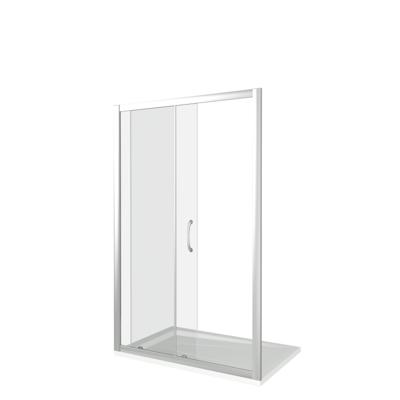 Душевое ограждение GOOD DOOR LATTE WTW-110-C-WE (фото, вид 2)