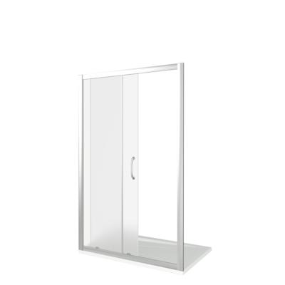 Душевое ограждение GOOD DOOR LATTE WTW-130-C-WE (фото, вид 1)