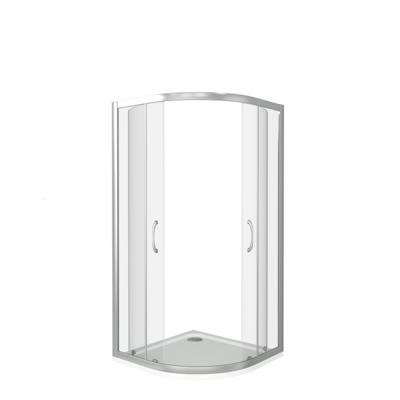 Душевое ограждение GOOD DOOR LATTE R -100-G-WE (фото, вид 2)