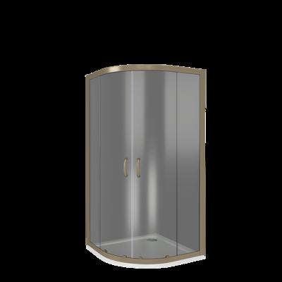 Душевое ограждение GOOD DOOR JAZZE R-80-G-BR (фото, вид 2)