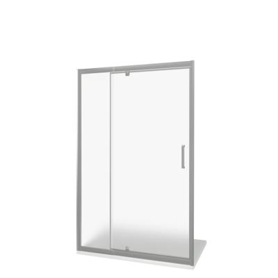 Душевое ограждение GOOD DOOR ORION WTW - PD-140-G-CH (фото, вид 1)