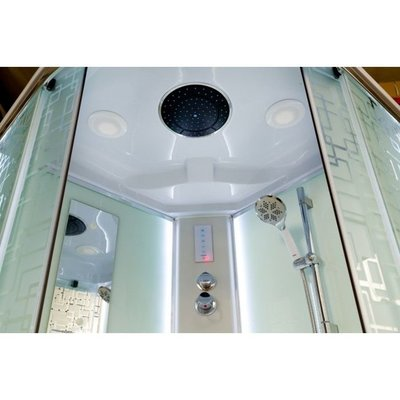 Душевая кабина DETO ЕМ1590 LED (фото, вид 2)