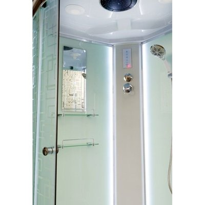 Душевая кабина DETO ЕМ4510 LED (фото, вид 2)