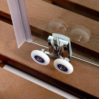 Душевая кабина DETO А09 LED с кнопкой и гидромассажем (фото, вид 9)
