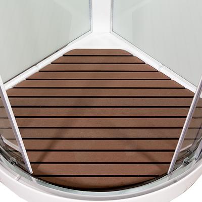 Душевая кабина DETO А09 LED с кнопкой и гидромассажем (фото, вид 15)