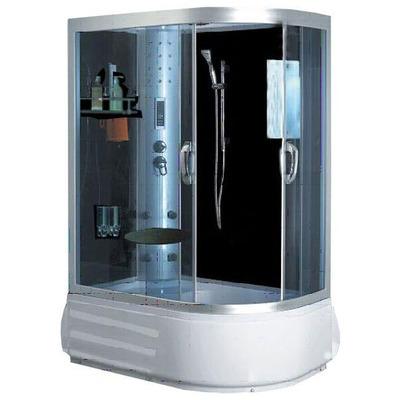 Душевая кабина Aqualux 8080 L (фото, вид 1)