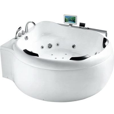 Акриловая ванна Gemy G9088 O (фото)