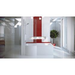 Ванна BESCO с душевой кабиной INSPIRO 150x70 L + screen BESCO