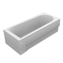 Прямоугольная акриловая ванна Vayer Boomerang 1900X900x450 R