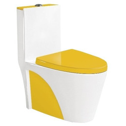 Унитаз B&C 9168 (желтый)