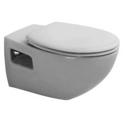 Унитаз DURAVIT Duraplus 254709 (с сиденьем, микролифт, белый)