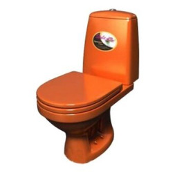 Унитаз Style 1215 (оранжевый)