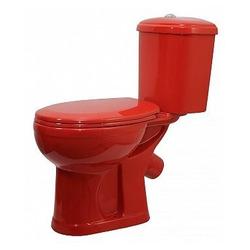 Унитаз Оскольская керамика Дора (красный)