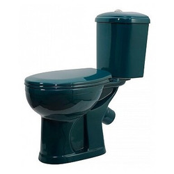 Унитаз Оскольская керамика Дора (зеленый)