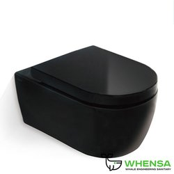 SSWW СТ2037 УНИТАЗ ПОДВЕСНОЙ (BLACK)