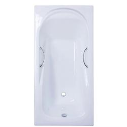 Чугунная ванна Sergig Carina 170x80x42 с ручками