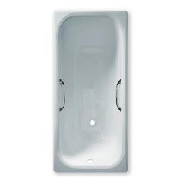 Чугунная ванна Sergig Le confort 160x75x46 углублённая c ручками