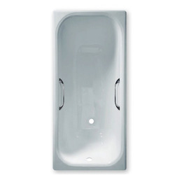 Чугунная ванна Sergig Le confort 170x75x46 углублённая c ручками