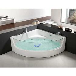 Акриловая гидромассажная ванна Cerutti SPA C-401 1500x1500x580