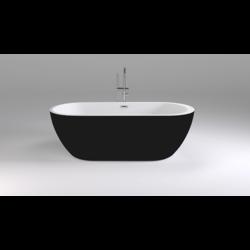 Акриловая ванна Black&White SB105 Black