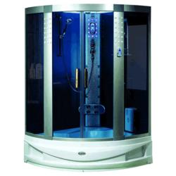 Душевая кабина LUYISI B-515 blue glass