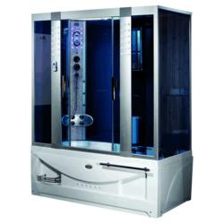 Душевая кабина LUYISI B-510 blue glass L
