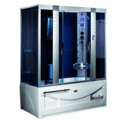 Душевая кабина LUYISI B-510 blue glass R