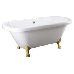 Ванна Faro Comforty CLDBL59 ножки золото