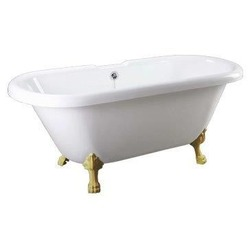 Ванна Faro Comforty CLDBL67 ножки золото