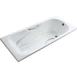 Чугунная ванна Fiinn F-150х75х42 см с ручками