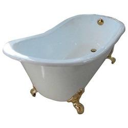 Ванна Magliezza Gracia 170х76 ножки золото