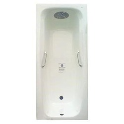 Чугунная ванна Sergig Primo 180x80 с ручками