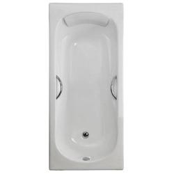 Чугунная ванна Sergig Provence 150х75х42 с ручками