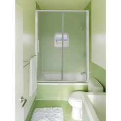 Дверь на ванну Lanmeng LM 309-2 (148-153x145)