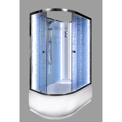 Душевая кабина Deto ЕМ4511 R N LED