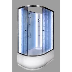 Душевая кабина Deto ЕМ4511 R N LED с гм.