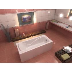 Ванна BAS Спектра 1500х700(без: каркаса,к-кта д/с,автослива)